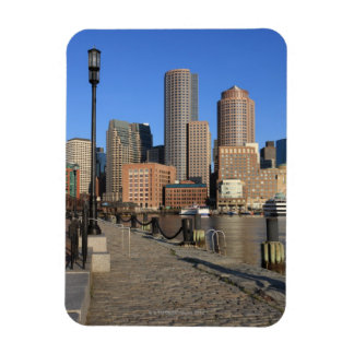 Boston Harbor and skyline.  Boston is one of the Magnet