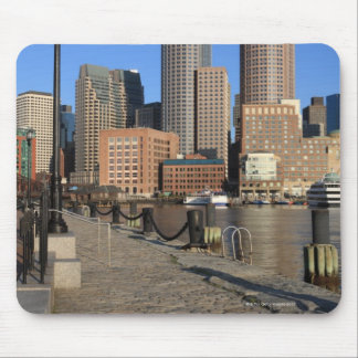 Boston Harbor and skyline.  Boston is one of the Mouse Pad