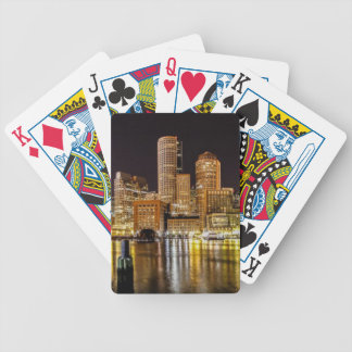 Boston Harbor Bicycle Playing Cards