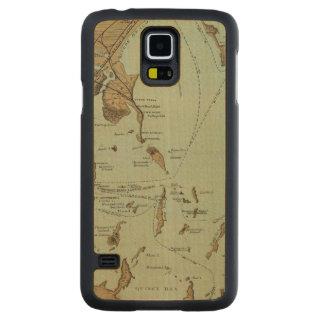 Boston Harbor Carved Maple Galaxy S5 Slim Case