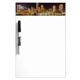 Boston Harbor Dry Erase White Board