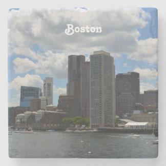 Boston Harbor Stone Beverage Coaster