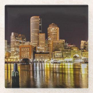 Boston Harbor Glass Coaster