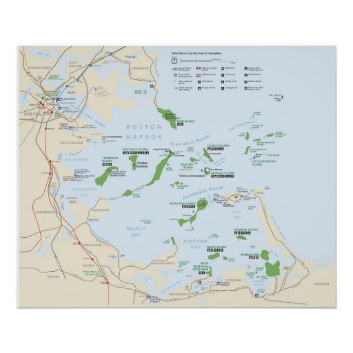 Boston Harbor Islands National Recreation Area Poster