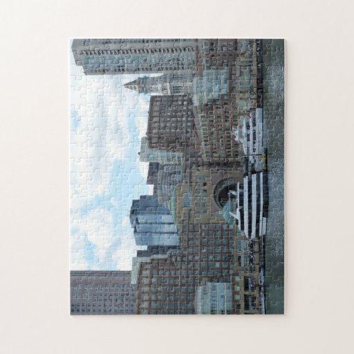 Boston Harbor Jigsaw Puzzle
