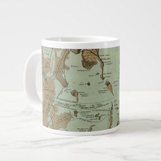 Boston Harbor Large Coffee Mug
