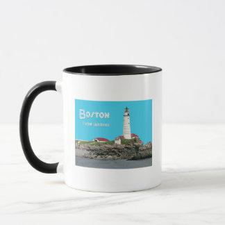Boston Harbor Lighthouse Mug