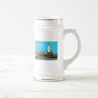 Boston Harbor Lighthouse Mugs