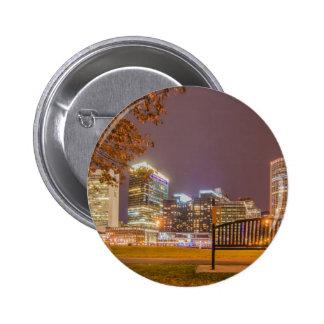 Boston harbor massachusetts 2 inch round button