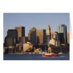 Boston Harbor, Massachusetts Greeting Cards