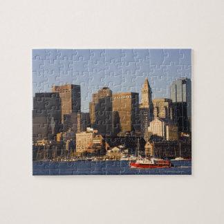 Boston Harbor, Massachusetts Jigsaw Puzzle