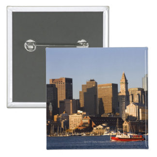 Boston Harbor, Massachusetts Pinback Button