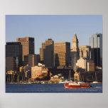 Boston Harbor, Massachusetts Poster