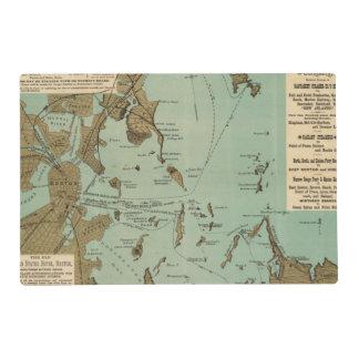 Boston Harbor Laminated Placemat