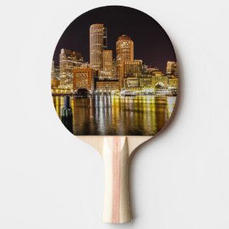 Boston Harbor Ping Pong Paddle
