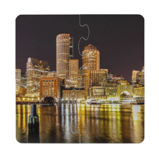 Boston Harbor Puzzle Coaster