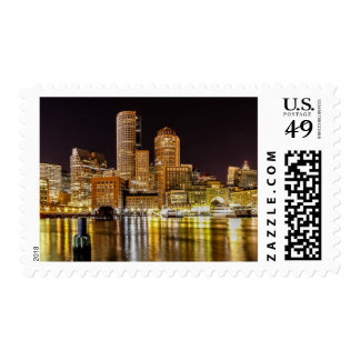 Boston Harbor Postage