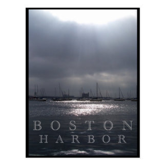 Boston Harbor Postcard