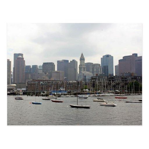 Boston Harbor Post Cards