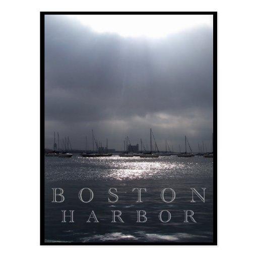 Boston Harbor Postcards