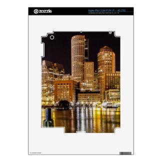 Boston Harbor iPad 3 Decal