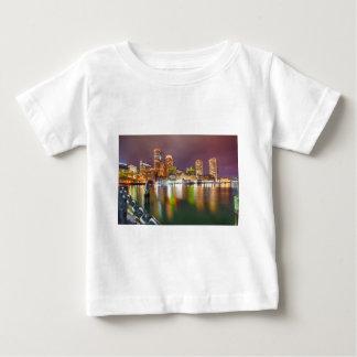Boston Harbor skyline Baby T-Shirt