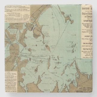 Boston Harbor Stone Coaster