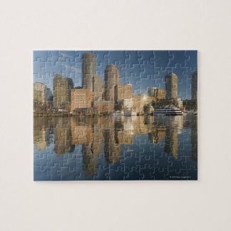 Boston Harbor viewed from Ft Poi Jigsaw Puzzle