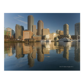 Boston Harbor viewed from Ft Poi Postcard