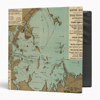 Boston Harbor Vinyl Binder
