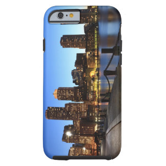 Boston Harbour and skyline.  Boston is one of the  Tough iPhone 6 Case