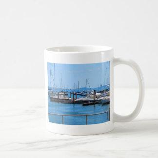 Boston Harbour Boats Sail SailBoats Lake views Coffee Mug