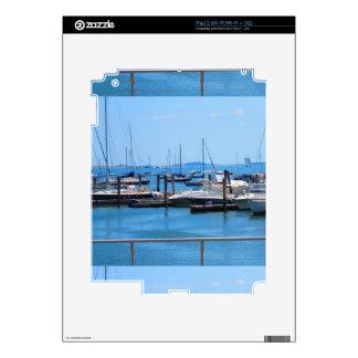 Boston Harbour Boats Sail SailBoats Lake views iPad 2 Decals