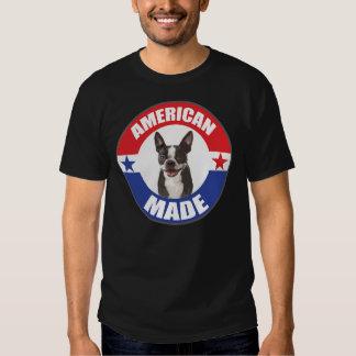 Boston hecha americana Terrier Poleras