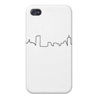 Boston - horizonte iPhone 4 funda