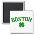 Boston Irish 2 Inch Square Magnet