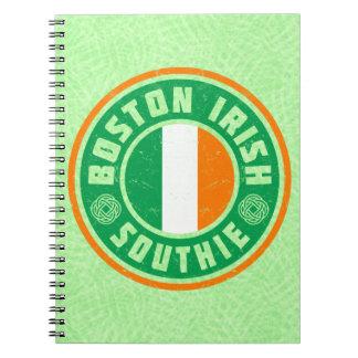Boston Irish American Southie Notepad Notebook