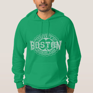 Boston Irish Drinking Team Bottle Cap Hoodie