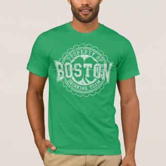 Boston Irish Drinking Team Bottle Cap T-Shirt