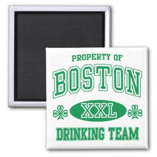 Boston Irish Drinking Team Fridge Magnets