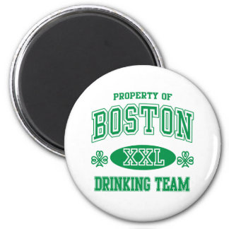 Boston Irish Drinking Team Refrigerator Magnets
