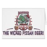 Boston Irish Red Ale Greeting Cards
