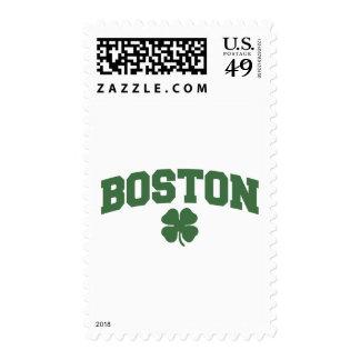 Boston (Irish Shamrock) Postage Stamps