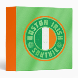 Boston Irish Southie Binder