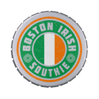 Boston Irish Southie Candy Tin