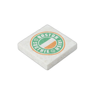 Boston Irish Southie Coaster Stone Magnet