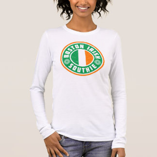 Boston Irish Southie Long Sleeve T-Shirt