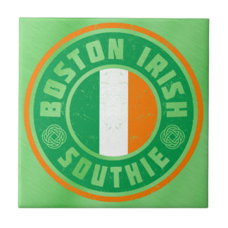 Boston Irish Southie Tile