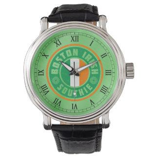 Boston Irish Southie Wrist Watch