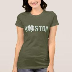 Boston Irish (vintage) T-shirt at Zazzle
